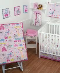 decoration circus nursery bedding pink crib set baby circus