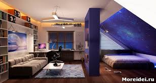 Design a childs room in the attic - How to equip a child s room