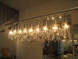 zspmed of linear crystal chandelier fancy in home design ideas with