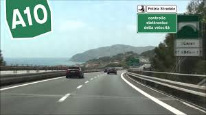 IT / A10 Andora - Imperia / Autostrada dei Fiori - YouTube