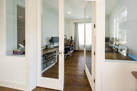 Office living room Combined While The Walls Are Not Insulated The Thick Glass And Strips Underneath The Doors Isolate The Room Plenty For Our Purposes Bored Panda Heres How Turned Our Formal Living Room Into Home Office