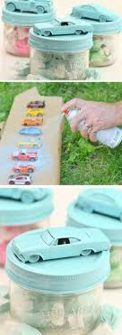 diy car treat jars