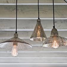 seeded glass chandelier clear glass pendants mercury glass pendant light