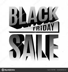 black friday festive banner posed of 3d letters with an unusual illusion 3d lettering desig vector by ivn3da