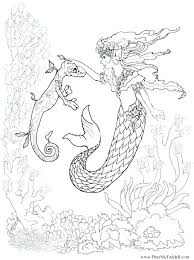 Barbie Princess Mermaid Coloring Pages Allthelistinfo