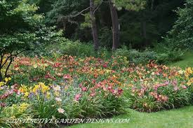 Daylily Designs Formal Daylily Beds At Distinctive Garden Designs Com Day