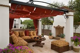 top spanish patio furniture and spanish colonial remodel mediterranean patio phoenix by 18