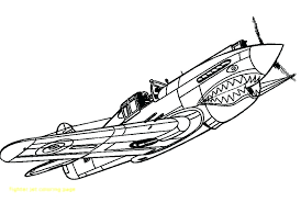 fighter jet plane coloring pages page jets colouring
