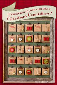 Create a crafty Christmas countdown with this simple DIY Advent calendar!  1) Using a