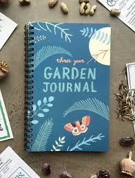 Garden Design Journal Gorgeous Garden Journal Three Year Daily Planner Gardening Gift For Etsy