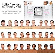 Benefit Foundation Colour Chart Hello Flawless Powder Foundation Nutmeg Beauty Must