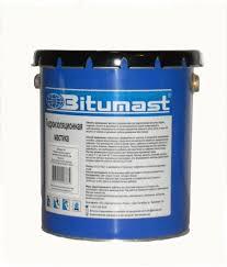 <b>Мастика гидроизоляционная</b> (<b>21</b>,<b>5 л</b>/металл) <b>BITUMAST</b>