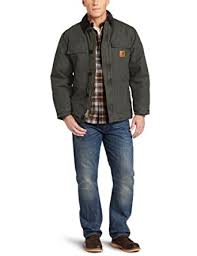 Amazon.com: Carhartt Men's Arctic Quilt Lined Sandstone ... & Carhartt Men's Arctic Quilt Lined Sandstone Traditional Coat C26 Adamdwight.com