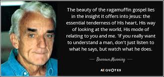 Gospel Quotes Beauteous TOP 48 RAGAMUFFIN GOSPEL QUOTES AZ Quotes