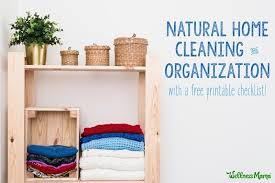cleaning checklist natural house cleaning checklist wellness mama