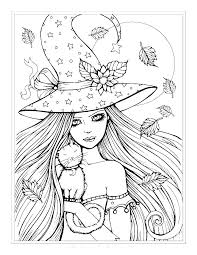 Cute Halloween Coloring Pictures Cute Halloween Coloring Pages Free