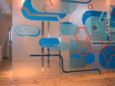 wall murals office. Sliding Wall Mural At K Office By Tulip Art Projects Via Flickr Murals T