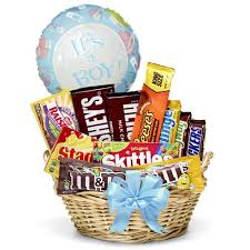 new baby boy gift basket and deliverable gifts for mom today