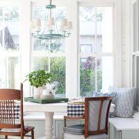 The Lettered Cottage Banquette Makeover Mint Green Navy Farmhouse Bungalow Barn 200x200