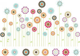 Small Picture Spring flowers border clip art free vector download 212690 Free