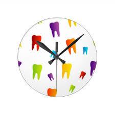 Znalezione obrazy dla zapytania teeth clock