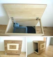 hideaway litter box cat furniture t hiding in small apartment