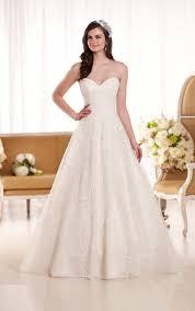 wedding dresses ivory lace wedding dress essense of australia