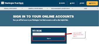 Washington Trust Bank Customer Service Washington Trust Bank Online Banking Login