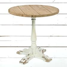 wood accent table round accent table in weathered worn wood faux wood accent table target