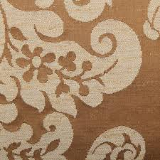 Curtain Fabric Traditional Woven Real Silk Cotton Blend Jacquard Upholstery