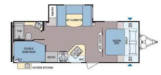 coleman travel trailers floor plans. coleman lantern series 244bhwe travel trailers floor plans n