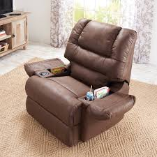 Recliner With Cup Holder And Storage I73
