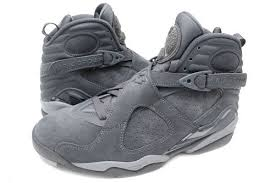 jordan 8 cool grey. available in mens ($190) and gs kids ($140) instore via phone at 650-347-6544. jordan 8 cool grey
