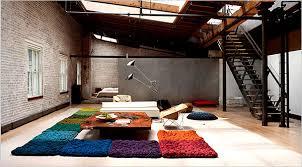 oversize felt rugs born in a soho loft