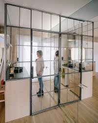 Bathroom Partition Walls Refurbished Apartment Gets Rid Of All Its Doors And Partitions