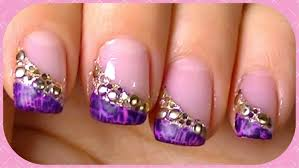 Bring Out Your Crackle Nail Polish, Simple,Fast,Elegant Nail Art Design  Tutorial - YouTube