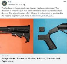 Bump stocks have been banned because the government believes white house press secretary, sarah sanders, states that bump stocks fall within the definition of. Foia Seeks Atf Documents After Technical Expert Admits Machinegun Ruling Political