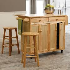 Kitchen Island Table On Wheels Rustic Kitchen Islands On Wheels Sink And Electric Stove White L
