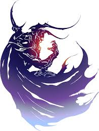 This is the logo for Final Fantasy IV it stands out because i can ...