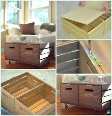 crate coffee table diy dimensions directions ammo for crate coffee table