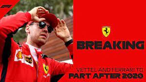 Sebastian Vettel To Leave Ferrari In Late 2020 Matrax Lubricants