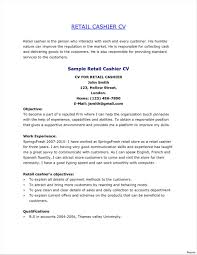 Example Resume For Head Cashier Your Prospex