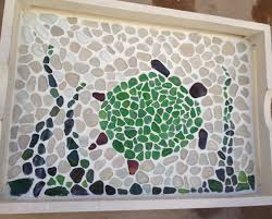 Grout and Sea Glass