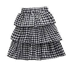 Amazon Com Summer Baby Girls Little Lass Plaid Short Skirt