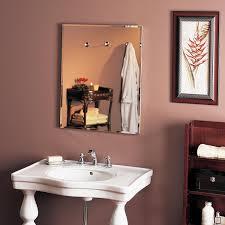 Recessed Bathroom Medicine Cabinets Bathroom Recessed Medicine Cabinet With Lights Nutone Vs Broan