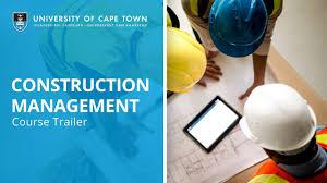 Construction Management Uct Construction Management Online Short Course Course Trailer