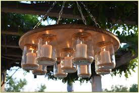 outdoor candle chandelier non electric nhfirefighters org inside plans 7