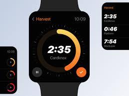 Harvest Timer Apple Watch Apps Apple Watch Watches