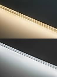 alb series aluminum led light bar fixture low profile surface mount warm white cool white