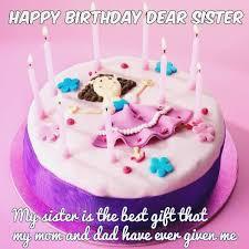 Happy Birthday Cake For Sister With Name Editor Birthdaycakeformomgq